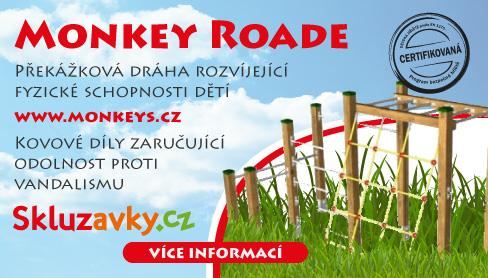 Dětské herní prvky Monkey Roade