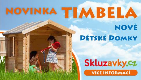 Novinka - dětské domečky Timbela. Krásný design, vysoká bezpečnost