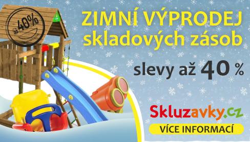 Podzimní výprodej dětských herních sestav Imprest
